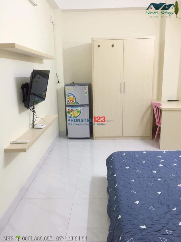 Căn phòng full nội thất quận 3 - khu nhà an ninh - tiện ích