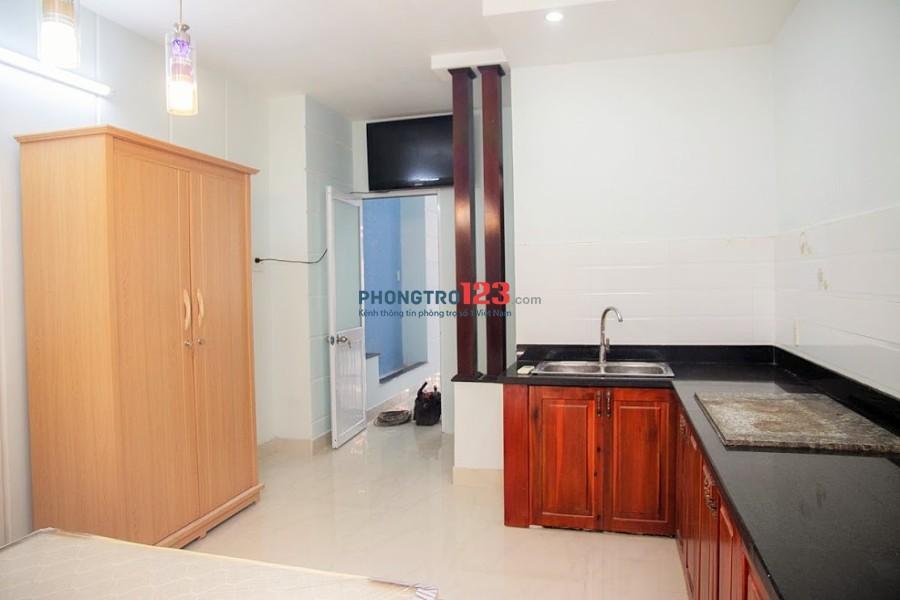 Chính chủ cho thuê phòng mới xây full tiện nghi ngay trung tâm phường 15, Tân Bình