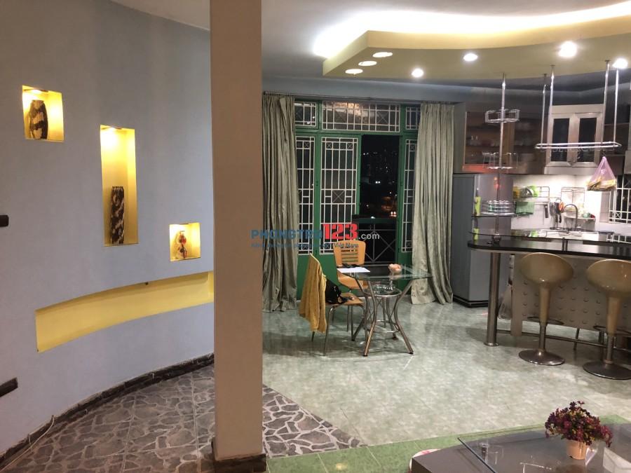 Cần nữ share phòng chung cư MT Lương Định Của Q2