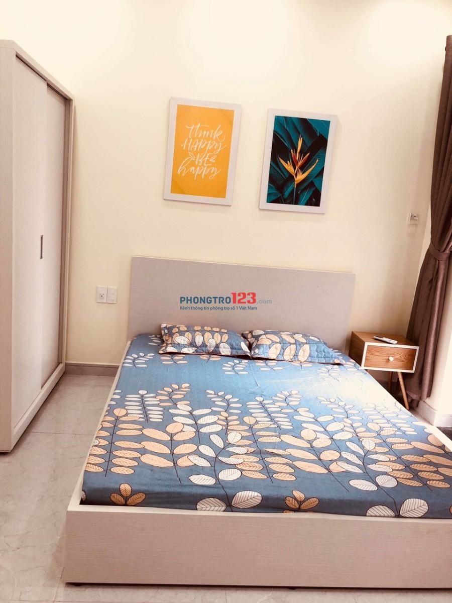 Cho thuê phòng Q3 Huỳnh Tịnh Của giá 7tr/tháng full nội thất cao cấp LH : MR HỒNG