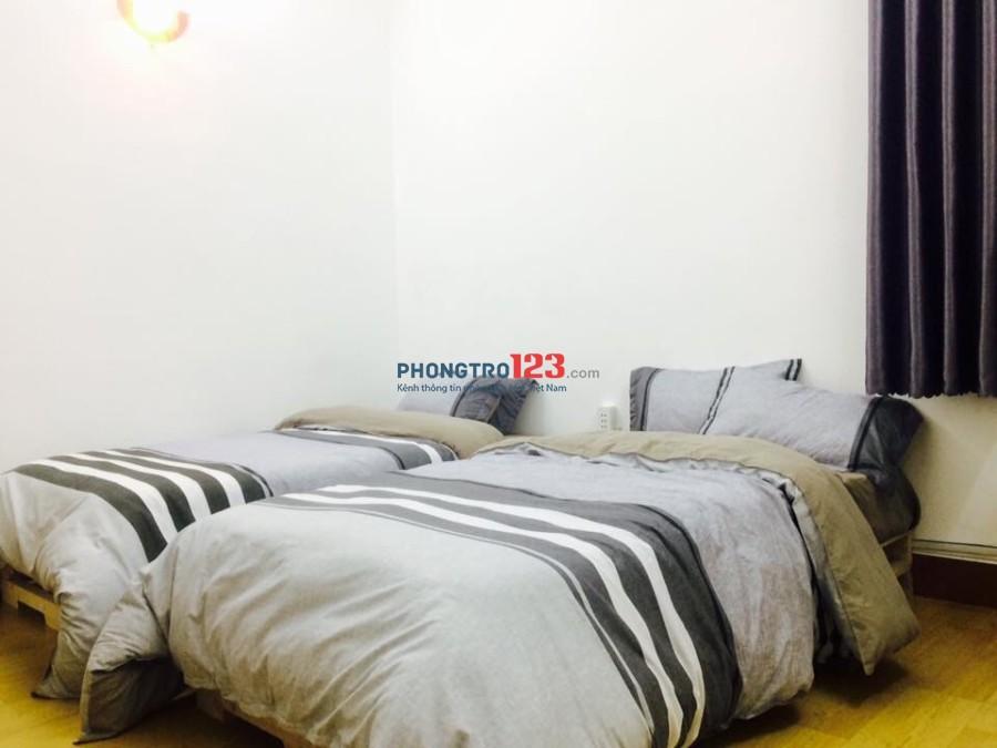 Cho thuê phòng Full nội thất tại Lê Thị Riêng P Bến Thành Q1 giá từ 8tr/tháng LH Ms Thư