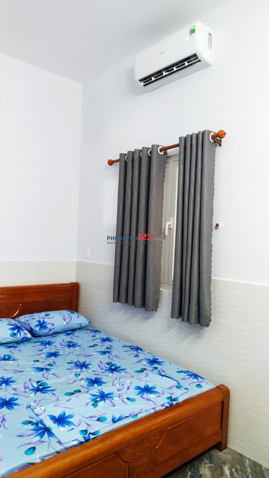 Căn hộ mini quận 7.Trang bị sẵn giường,tủ đồ,máy lạnh,WC riêng.Bãi xe Rộng,thang máy,wifi