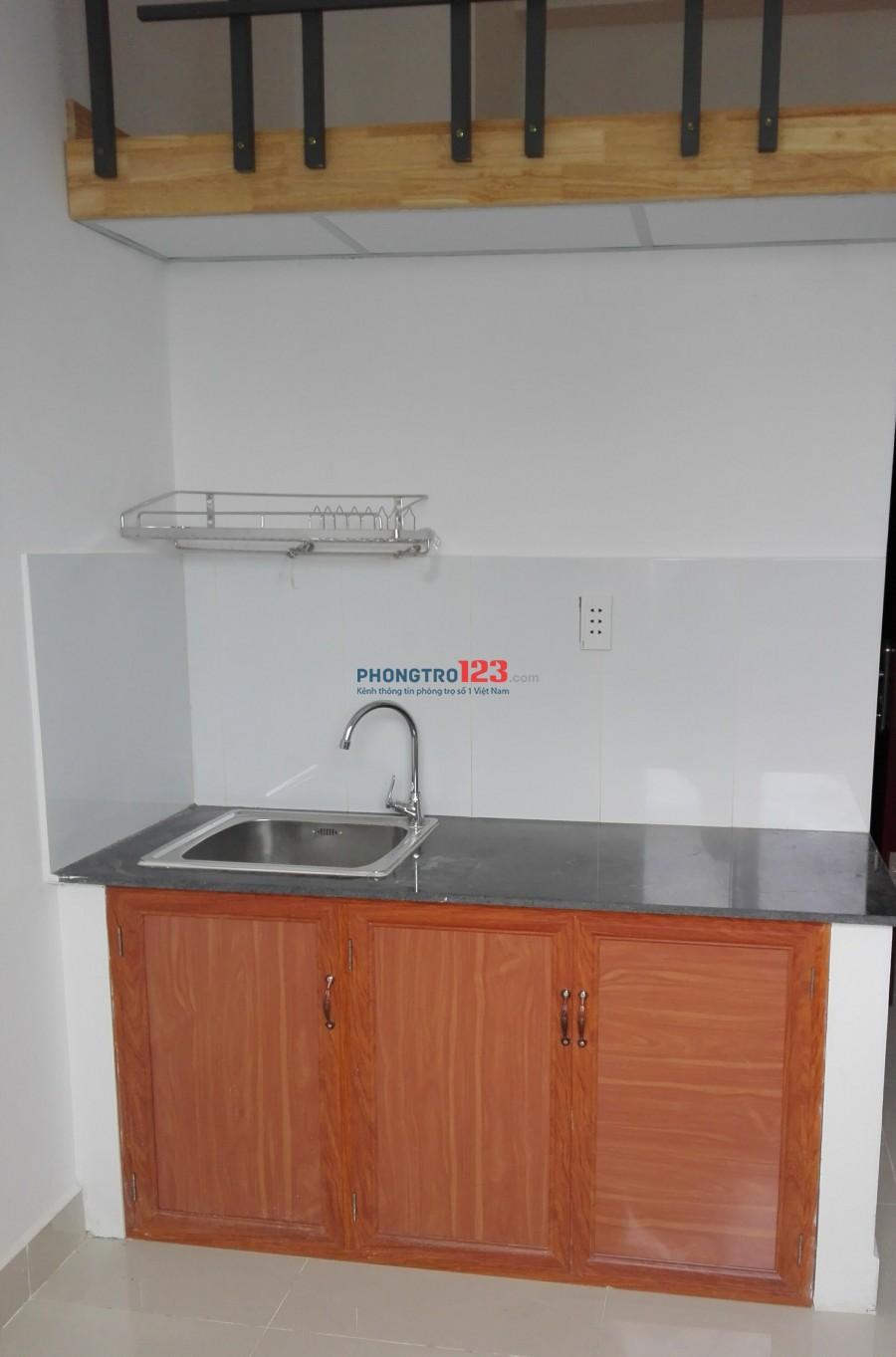 Phòng trọ căn hộ mini có máy lạnh