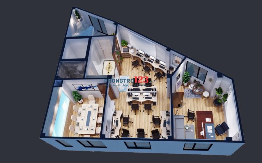 Cho thuê tòa Văn Phòng 7 tầng 170 Hoàng Ngân