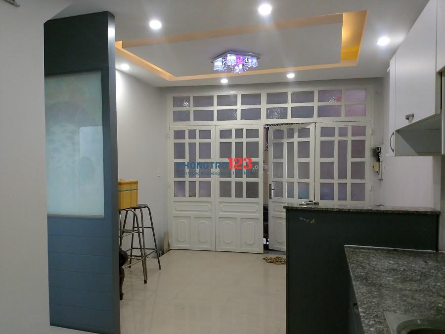 Cho thuê nhà nguyên căn 352/23 Nguyễn Tất Thành, P.13, Quận 4