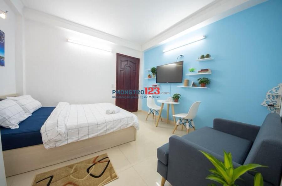 Cho thuê căn hộ mini ngay thảo cầm viên, tiện nghi, an ninh.