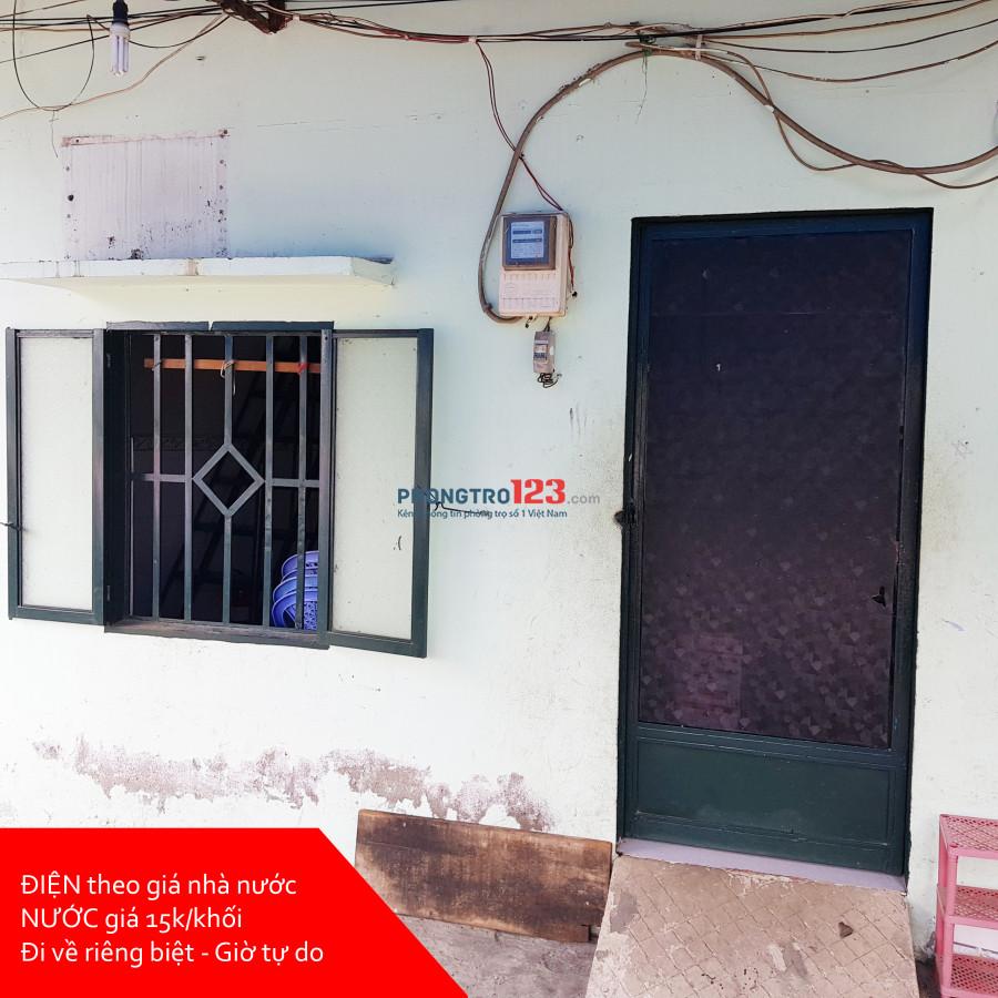 Cho thuê phòng trọ Điện nhà nước - Giờ tự do đường Trần Xuân Soạn, Quận 7