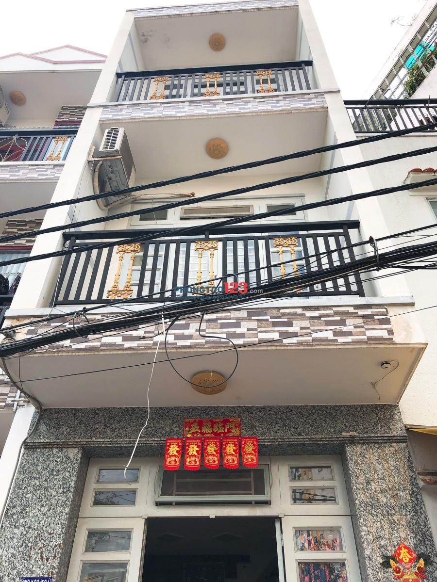 Cho thuê nhà 2 lầu hẻm xe tải tại An Dương Vương Q8 giá 7,5tr/tháng LH Mr Hùng 0988997795
