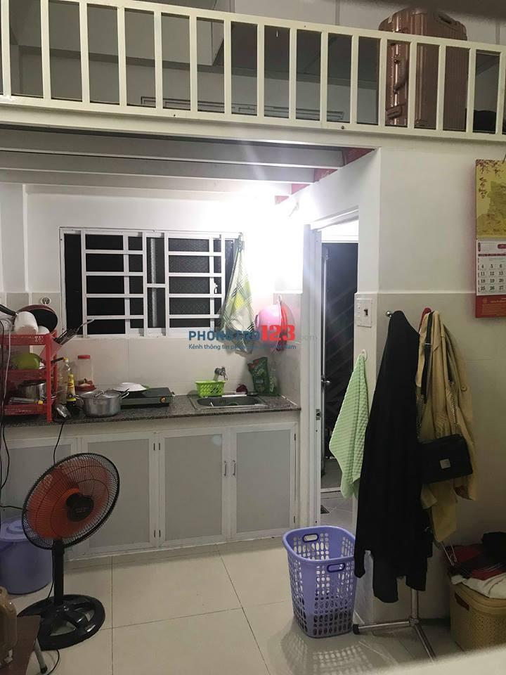 Cần 1 bạn nữ share phòng có gác ở đường Bùi Đình Túy, Bình Thạnh