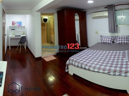 Phòng cho thuê có nội thất, có nhận ngắn hạn Lê Thị Riêng q1