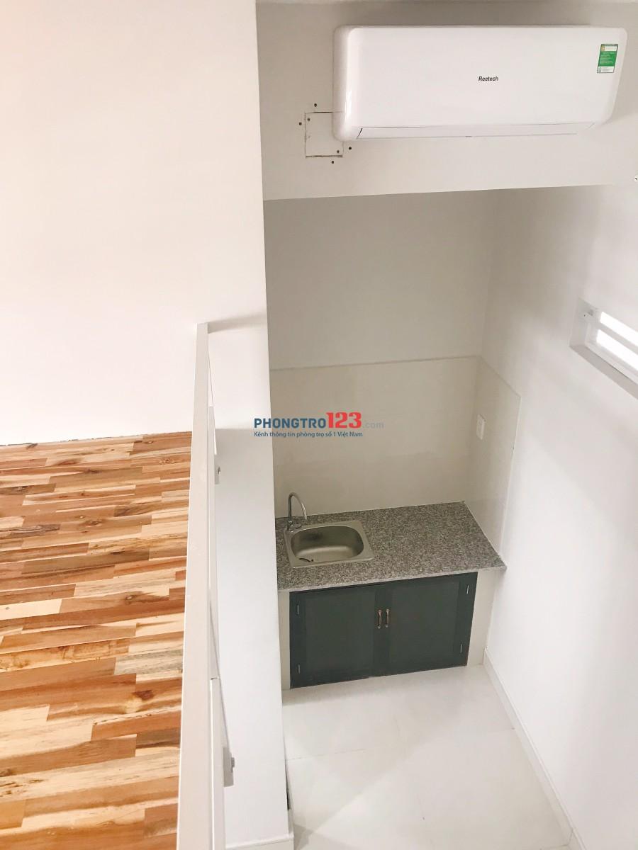 [ PHÒNG TRỌ NEW - 100% có gác, máy lạnh, máy giặt