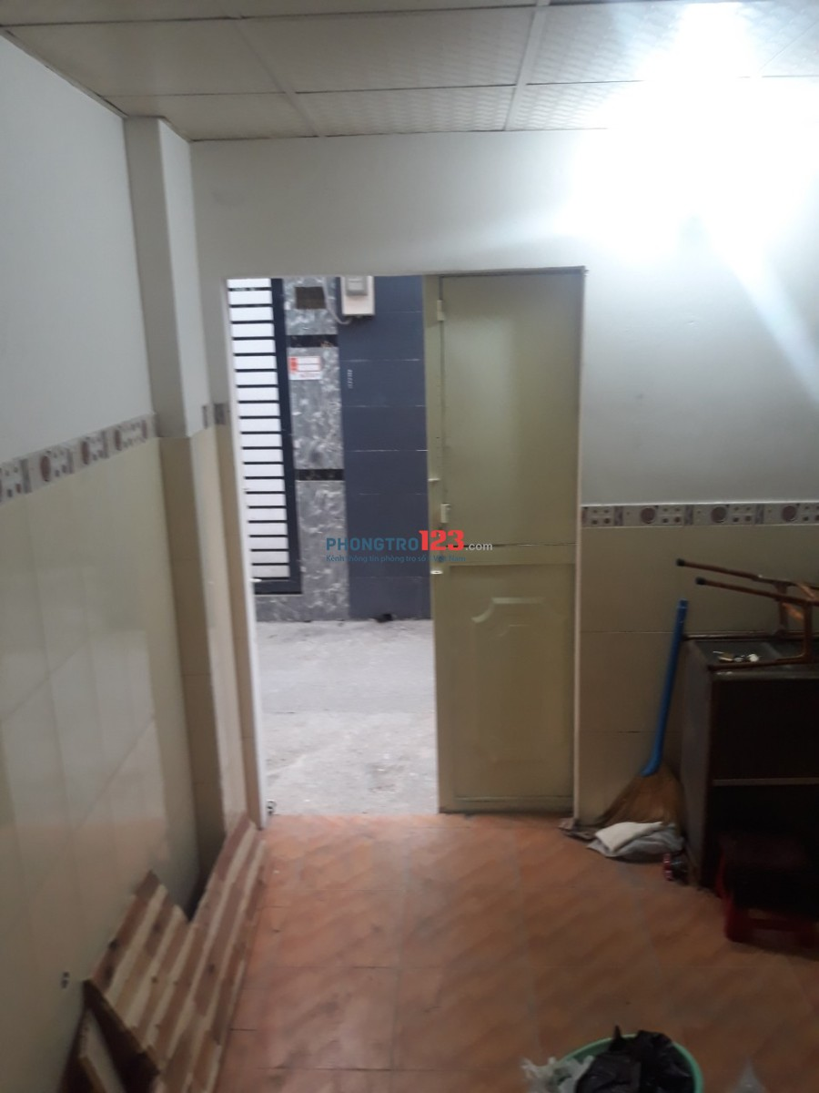 Nhà riêng cho thuê sạch thoáng, mới sửa chữa sơn nước xong
