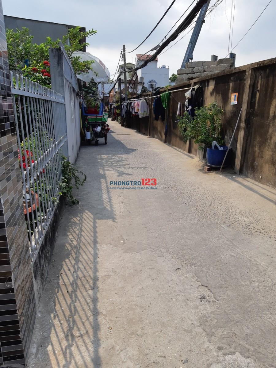 Cho thuê nhà NC 2737/10 Phạm Thế Hiển P7 Q8 1 lầu giá 9tr/tháng LH : CÔ THẠNH