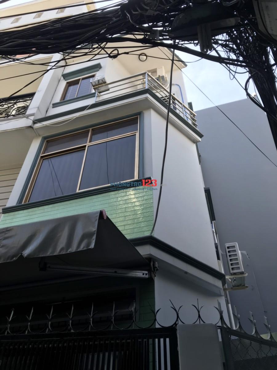 Nhà cho thuê trung tâm Q.3, 47/110 Trần Quốc Toản, P.8, Q.3, giá 12tr/tháng
