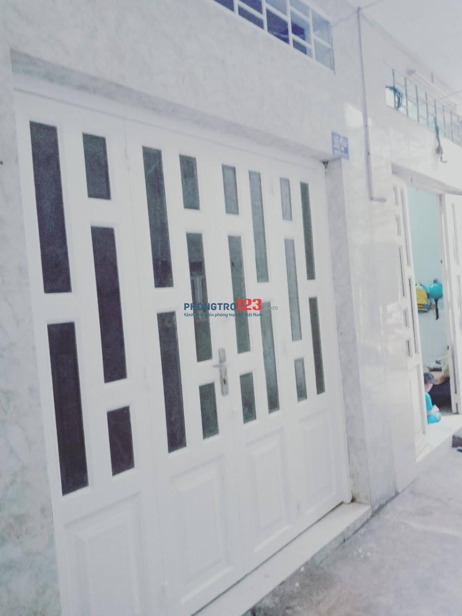 Cho thuê nhà mới đẹp 1 lầu khu an ninh tại hẻm 165 Văn Thân, Q.6, Giá 5,5tr/tháng. LH Ms Hòa