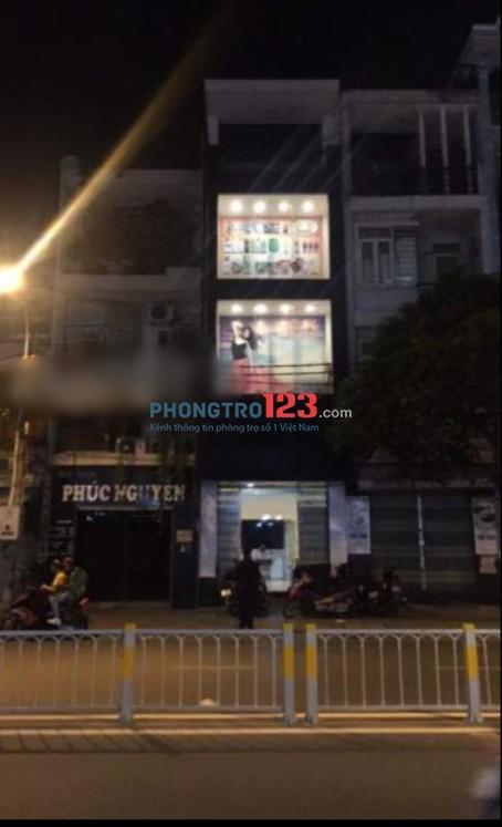 Cho thuê mặt bằng kinh doanh 4x15 và tầng ở mặt tiền đường số 41, P.6, Q.4. LH Mr Vinh