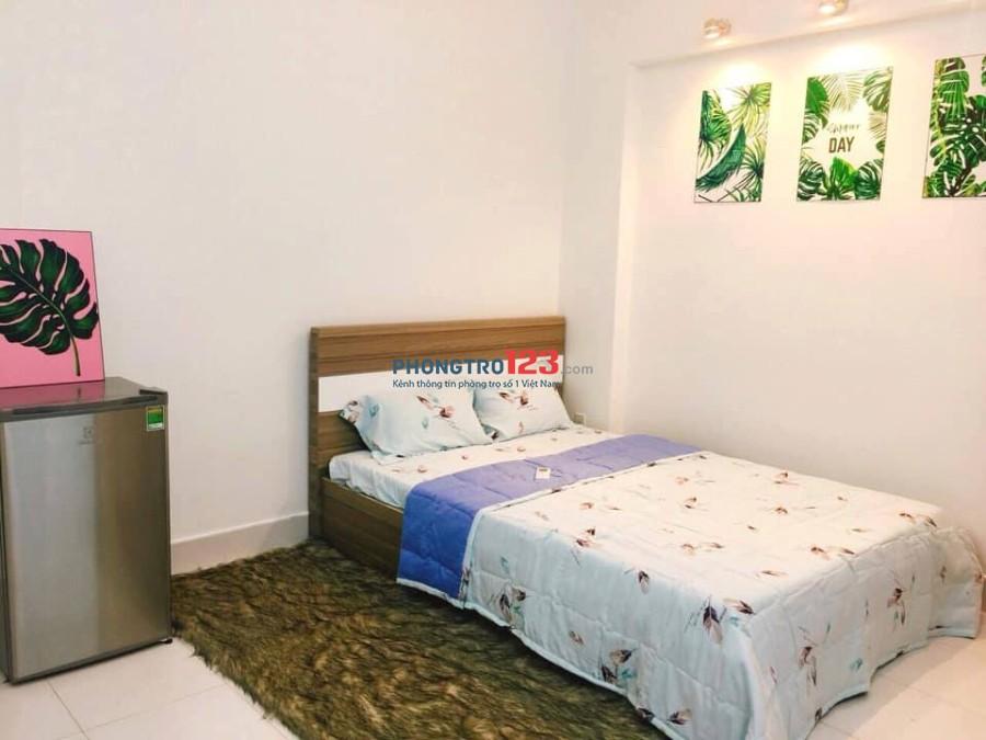 Cho thuê phòng trọ studio đẹp thoáng 5tr đủ tiện nghi tại ngã 4 Phú Nhuận