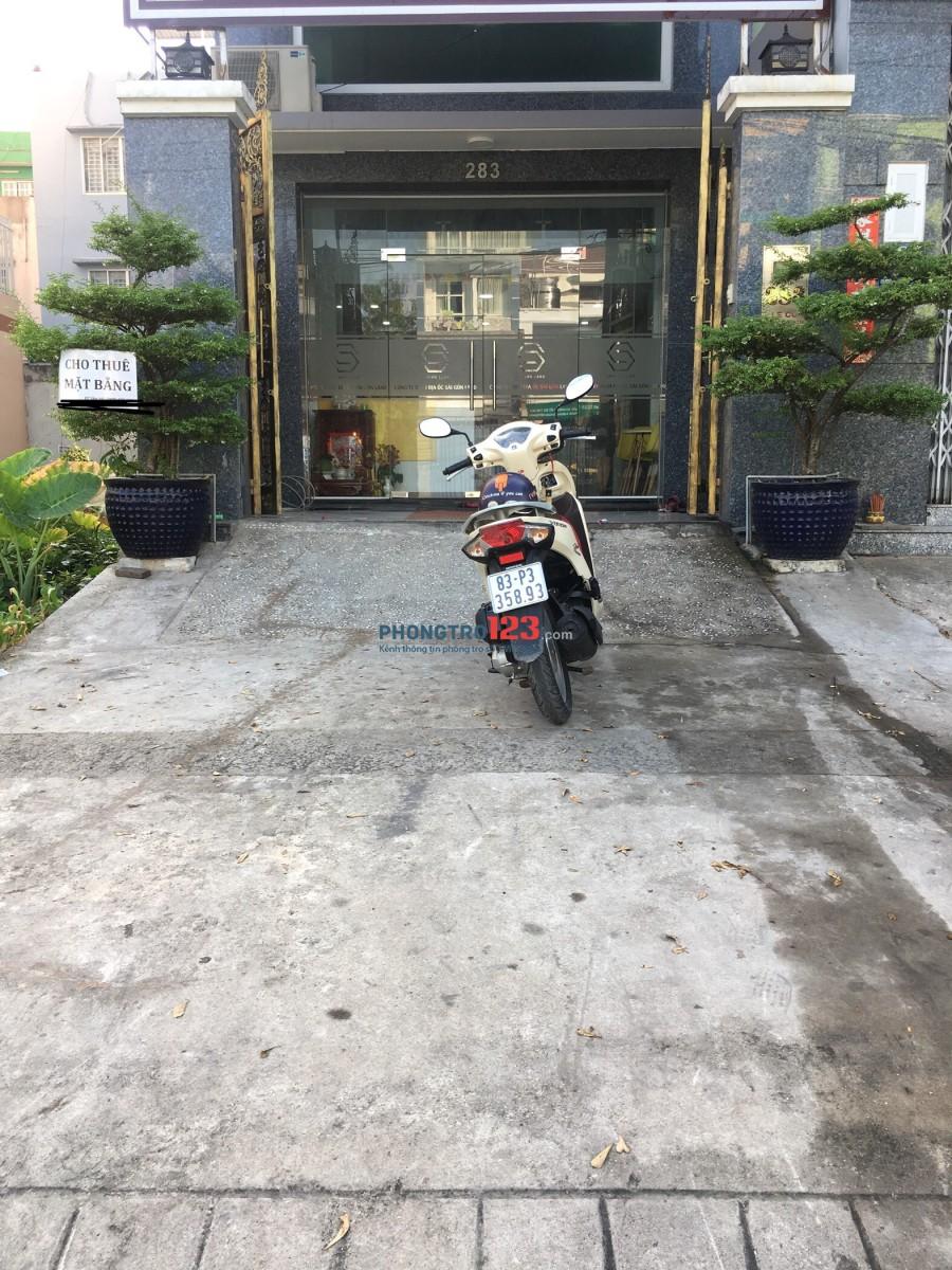 Cho thuê nhà nguyên căn 2 lầu mới tinh mặt tiền Lê Cơ, Q.Bình Tân, Giá 10tr/tháng. LH Ms Của