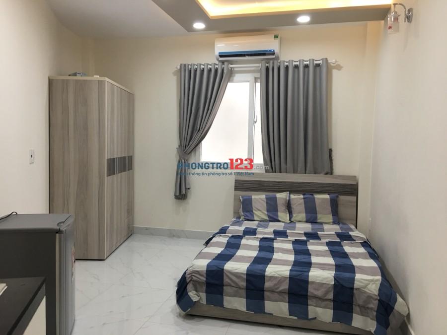 Cho thuê phòng trọ đẹp thoáng 5tr đủ tiện nghi tại Bình Thạnh sát Q1