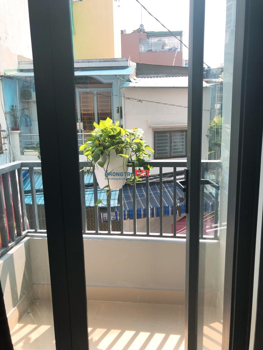 Cho thuê phòng trọ có máy lạnh hẻm 8m tại Hẻm 65 Nguyễn Đình Chiểu Q Phú Nhuận LH Mr Can