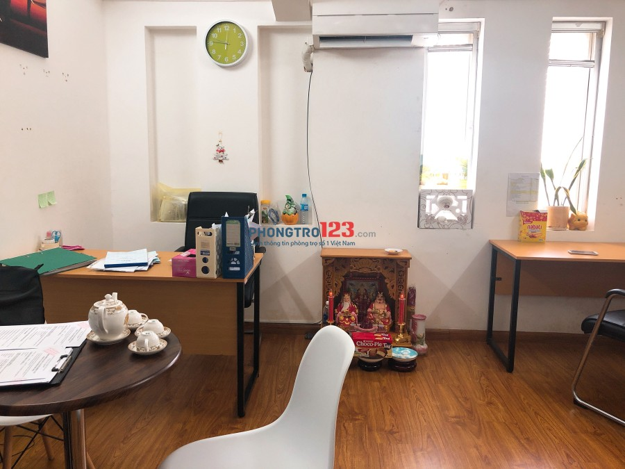 Cho thuê MB văn phòng có nội thất mặt tiền Đường D5, Q.Bình Thạnh, giá 10tr/tháng. LH Mr Giang