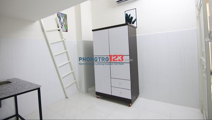 Chính chủ cho thuê phòng cao cấp gác lửng mới xây ngay ngay Cống Lở, Tân Bình