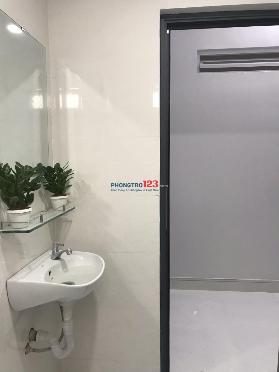 [Phòng trọ new 100% - Có gác, máy lạnh, máy giặt, máy nước nóng, bếp từ