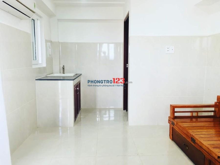 Phòng trọ 25m2 full tiện nghi có bếp mới xây, G52 Lê Thị Riêng Q12