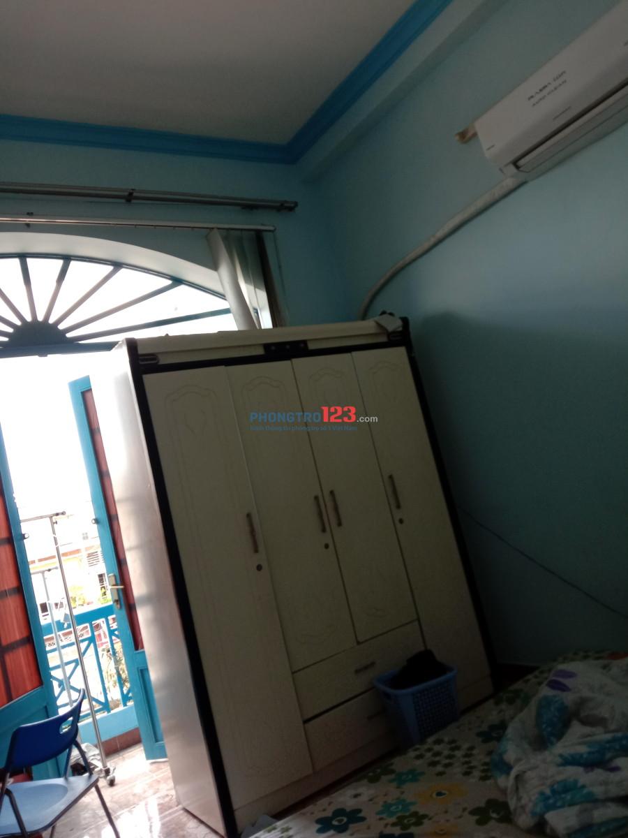 Phòng máy lạnh lầu 1 hoàng Hoa tham ,Phan Đăng Lưu giá 3,5tr tr