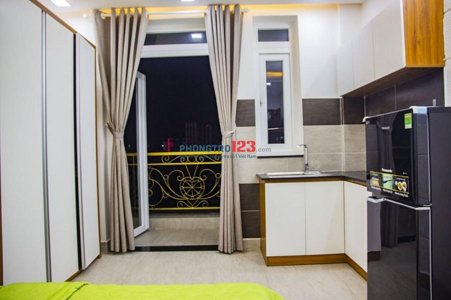Căn hộ Quận Tân Bình 30m² 1PN Nội thất Đường Bàu Cát