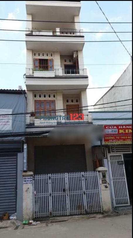 Cho thuê nhà nguyên căn mặt tiền đường Số 10, P.Bình Hưng Hòa B, Q.Bình Tân. LH Mr Định