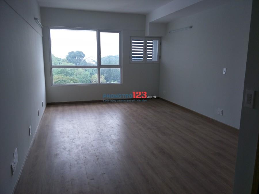 Cho thuê căn hộ officetel nội thất căn bản Charmington Cao Thắng, Q10, giá 10,5tr/tháng. LH Mr Hiếu