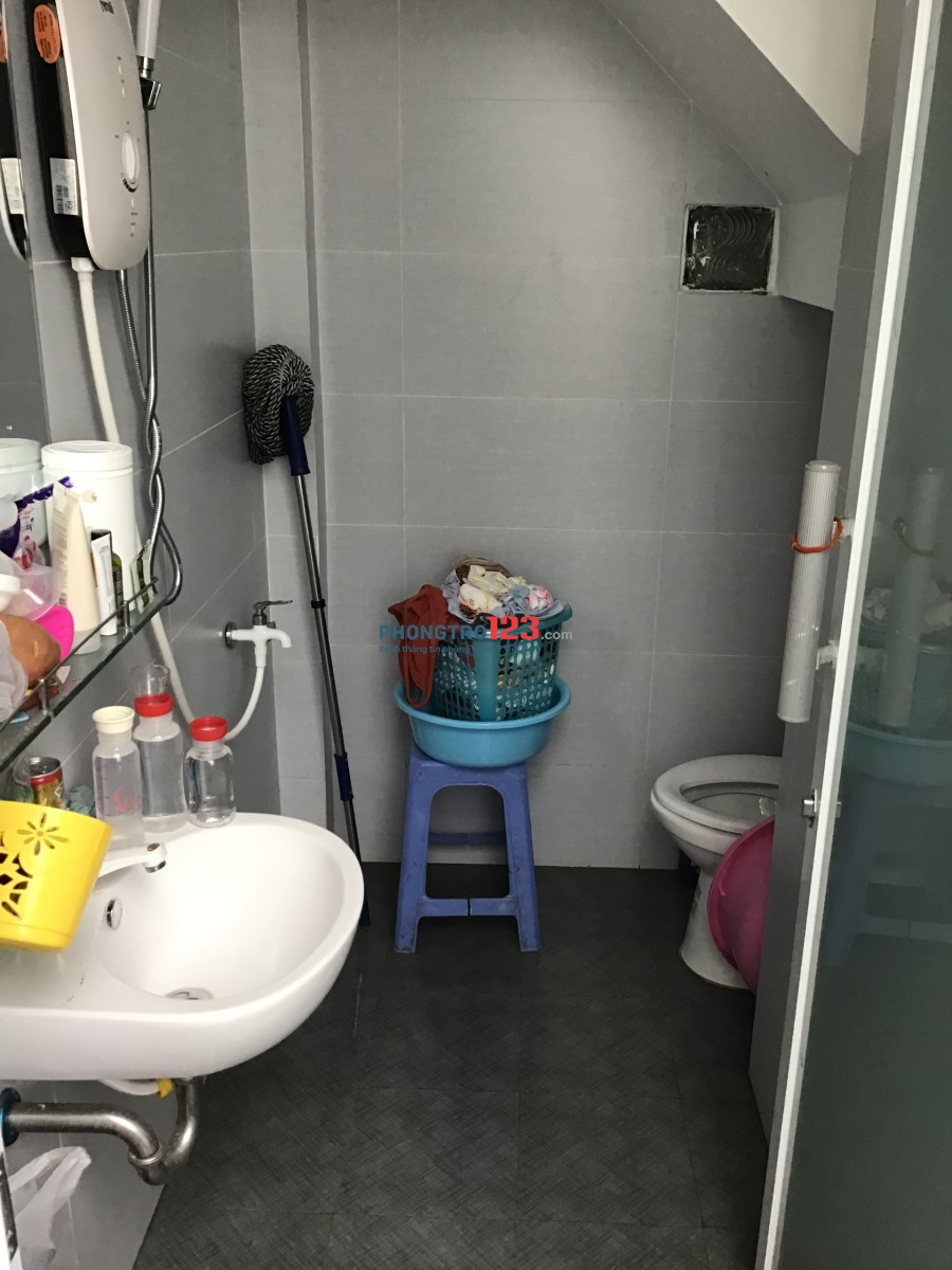 Cho thuê phòng cao cấp nhà 2 mặt tiền Đường Nguyễn Thanh Tuyền, Q.Tân Bình, giá 5tr/tháng