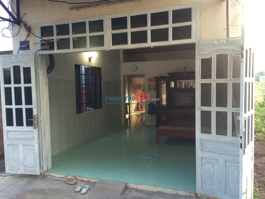 Cho thuê nhà nguyên căn, gần chợ Phước Thái, Long Thành, Đồng Nai