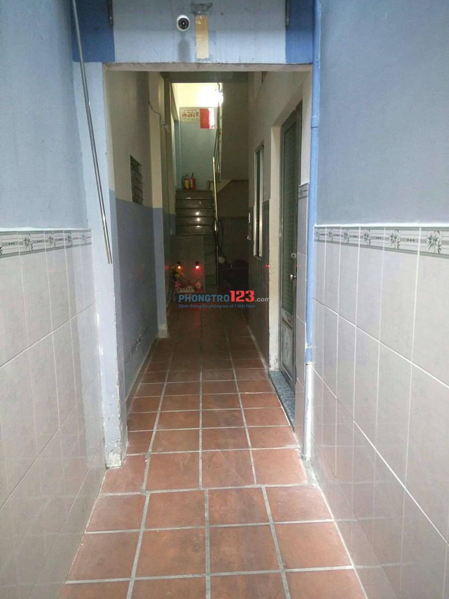 Cho thuê phòng trọ quận Tân Phú 12m2