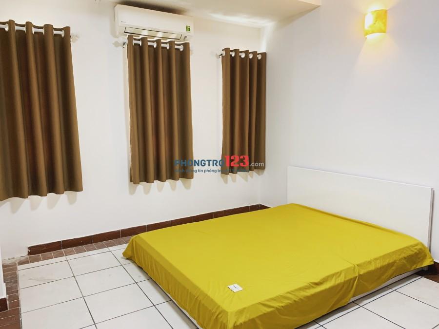 Cho thuê phòng đẹp đầy đủ nội thất sát quận 1 cách Bitexco 5 phút