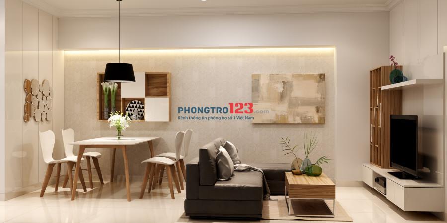 Cần bán căn hộ 2PN MT Nguyễn Duy Trinh, Bình Trưng Tây, Quận 2, nội thất cao cấp