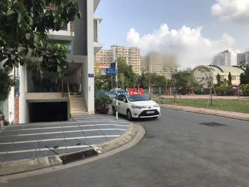 Cho thuê mặt bằng văn phòng 80m2 ngay góc ngã 3 Đường 26 và 27A P.An Phú, Q.2 Ms Giang