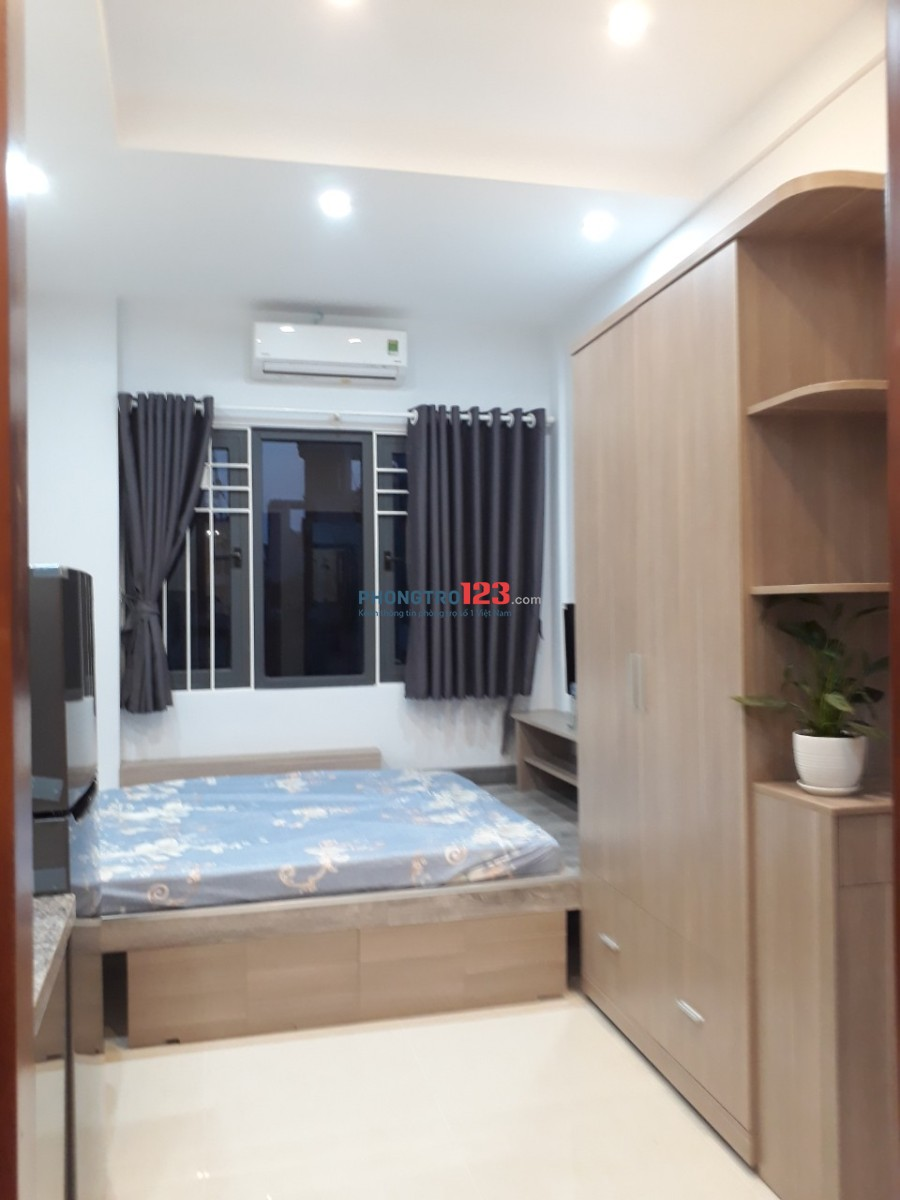 Cho thuê căn hộ mini, mới 100%, full nội thất, hẻm 650 đường Điện Biên Phủ, liền kề HaDo Centrosa
