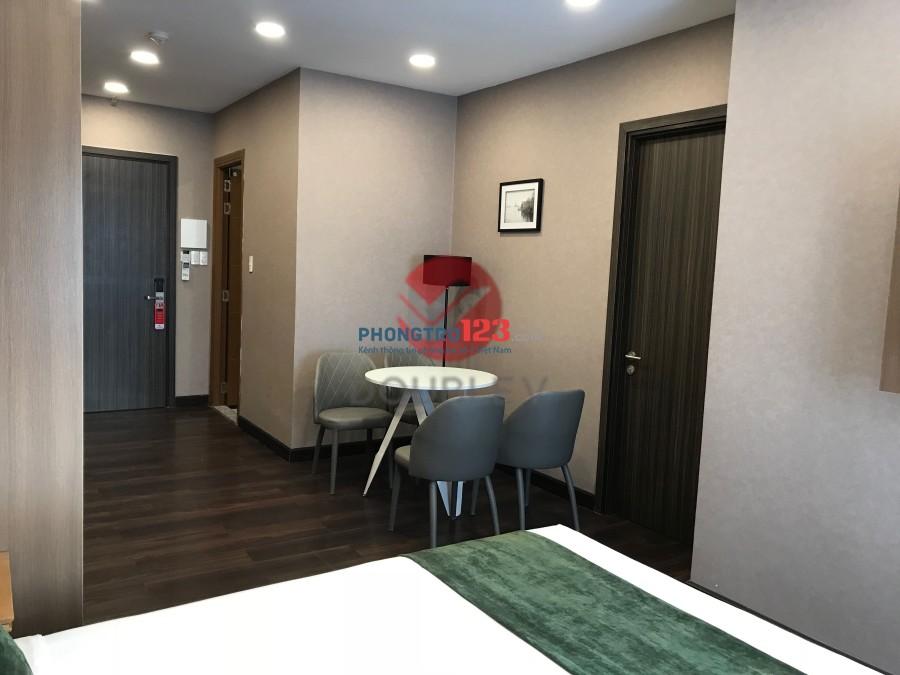 Căn hộ studio quận 3 mới 100% với thiết kế nội thất cao cấp chuẩn Châu Âu, giá chỉ 15,13 triệu/tháng