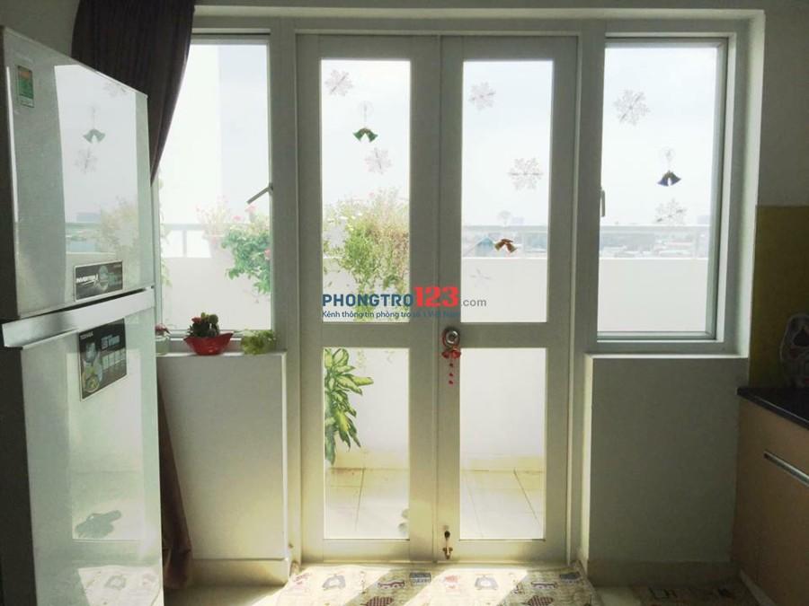 GẤP SHARE phòng chung cư- giờ giấc tự do- đầy đủ nội thất