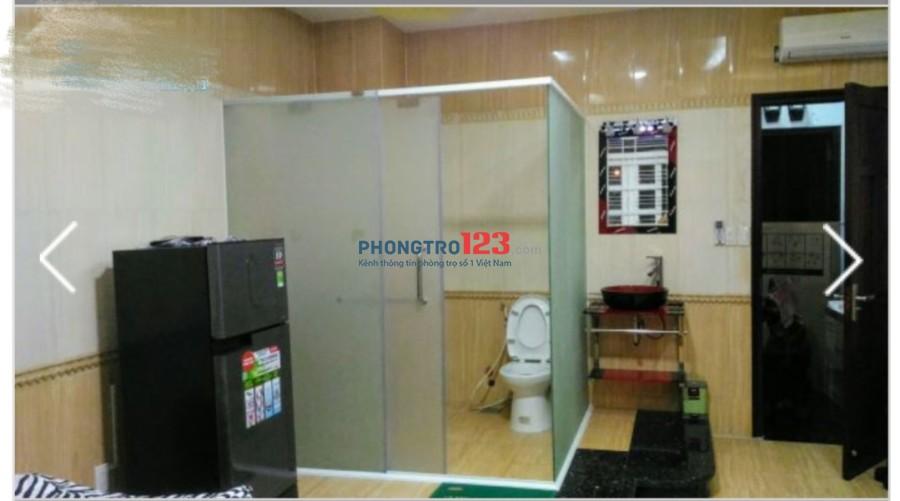 Cho thuê phòng cao cấp Full nội thất tại An Bình, P.6, Q.5. LH : Ms Thanh 0908223779