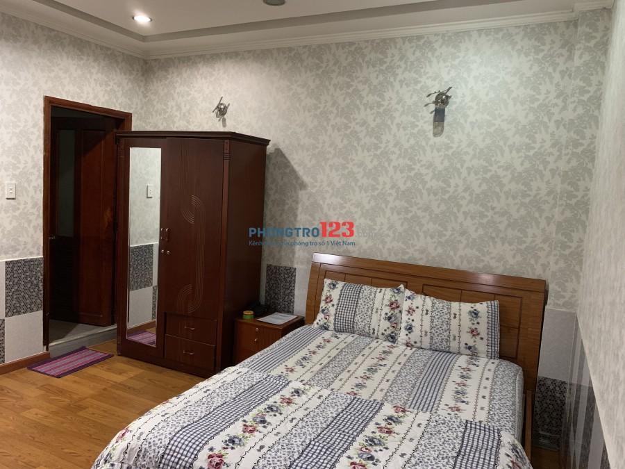 Phòng Căn hộ cao cấp 3* đầy đủ tiện nghi có bếp cửa sổ thang máy 40m2 giờ giấc tự do Q.Phú Nhuận