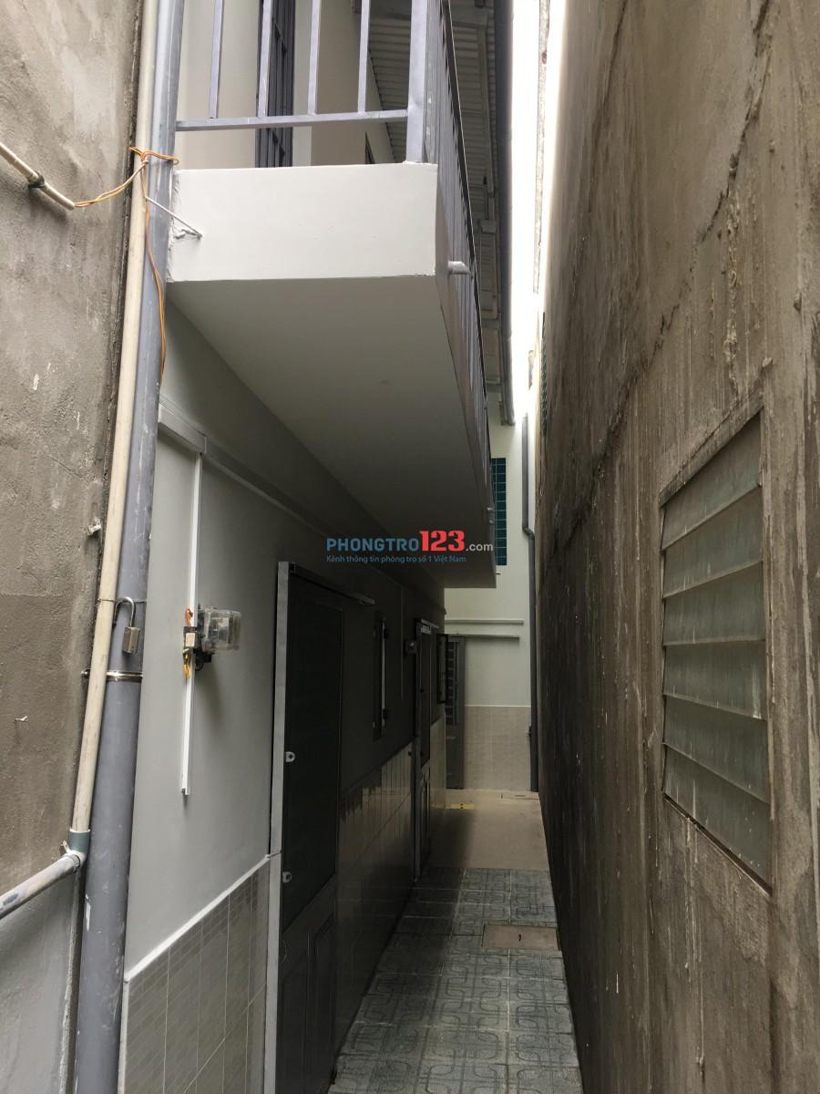 Cho thuê phòng trọ 1 lầu 1 trệt mới xây gần Q.Gò Vấp