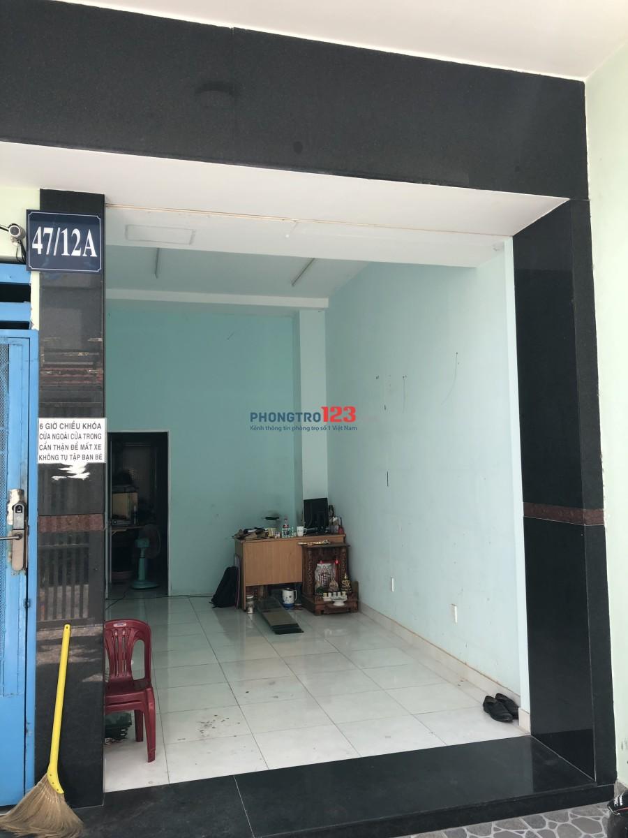 Cho thuê mặt bằng giá rẻ, Hòa Bình tại quận Tân Phú