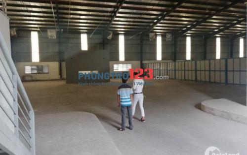 Cho thuê 8000m2 nhà kho xưởng mặt tiền QL1A, P.An Lạc, Q.Bình Tân. LH Cô Thương