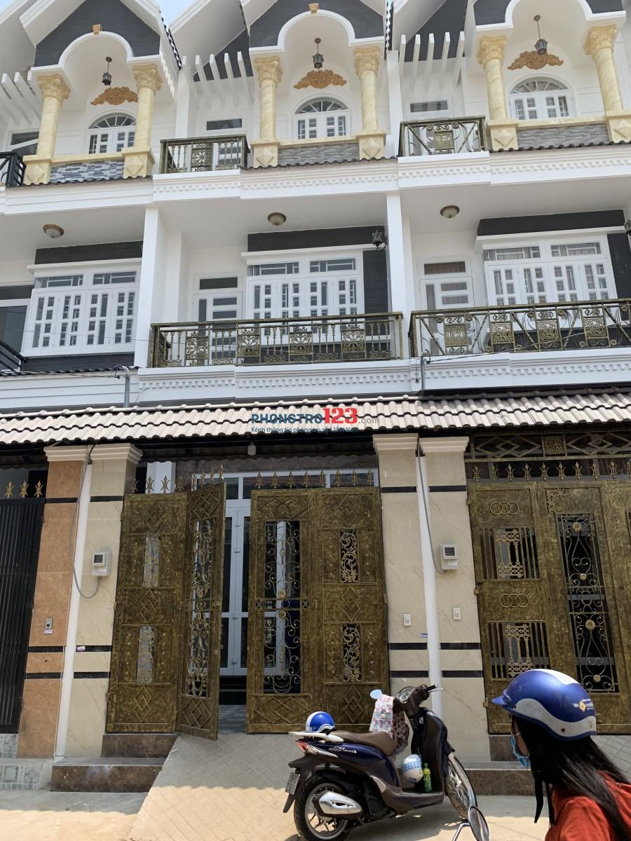 Cho thuê nhà 3 tấm 7/51C, dt 276m 7/51c liên khu 5-6, P.Bình Hưng Hòa B, quận Bình Tân
