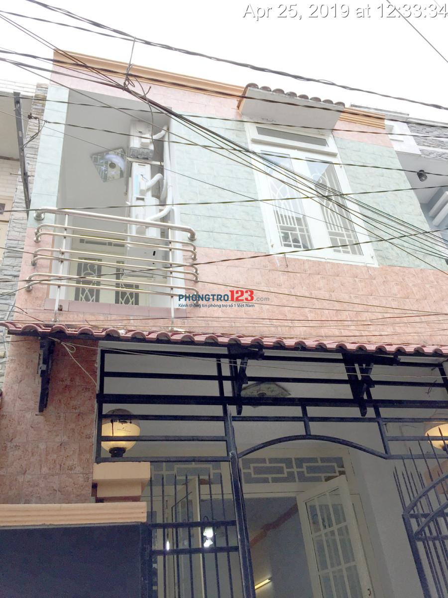 Cho thuê nhà nguyên căn chính chủ, 80m2, Lê Văn Qưới, Q.Bình Tân, 7.5tr/tháng