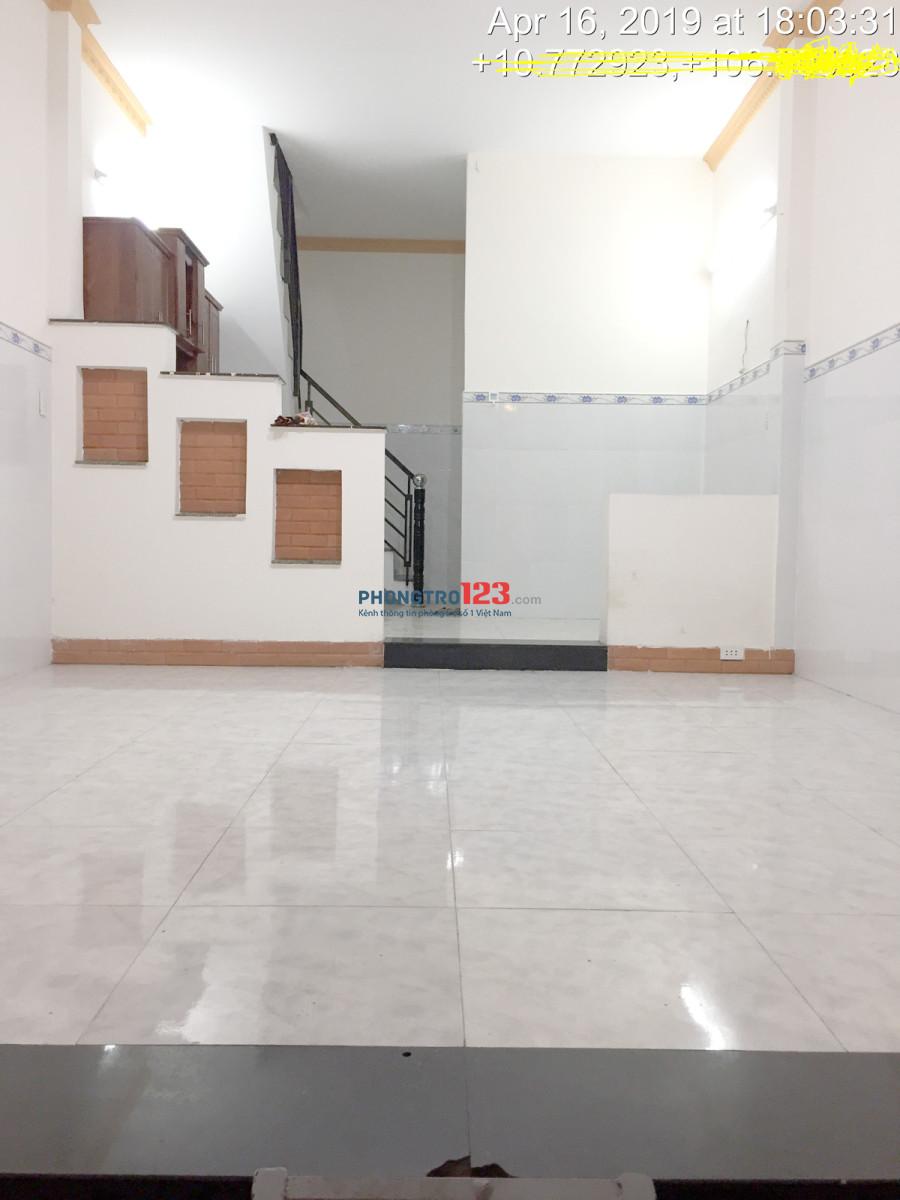 Cho thuê nhà nguyên căn, 80m2, Lê Văn Qưới, Q.Bình Tân, 7.5tr/tháng