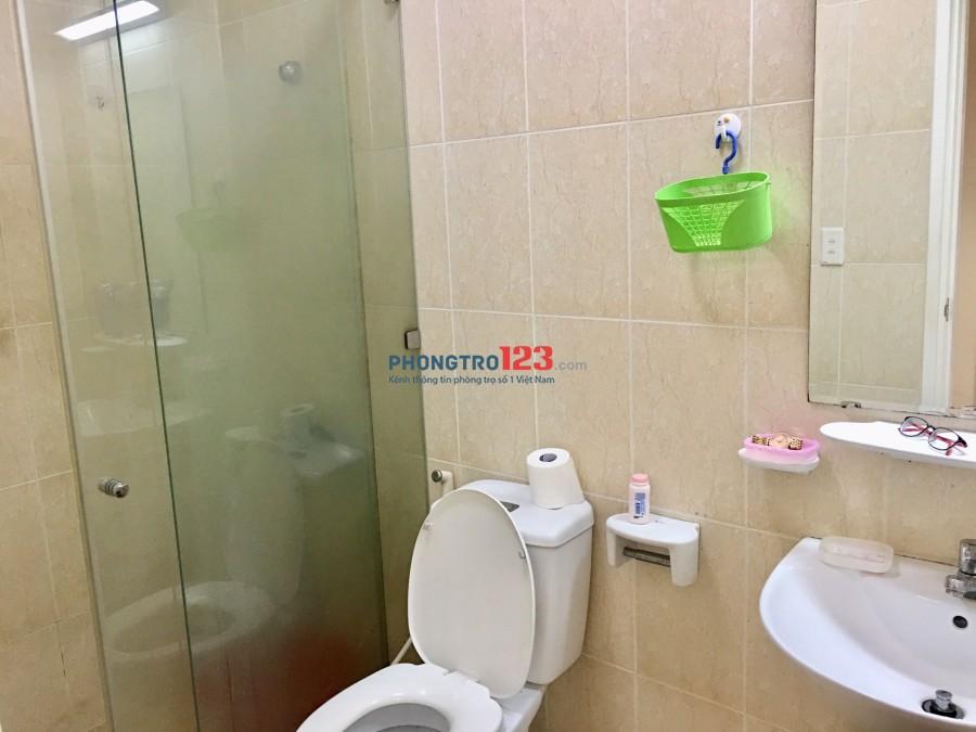Cần 2 nữ ở ghép hoặc share 1 phòng trong căn hộ 98m2- Quận 8